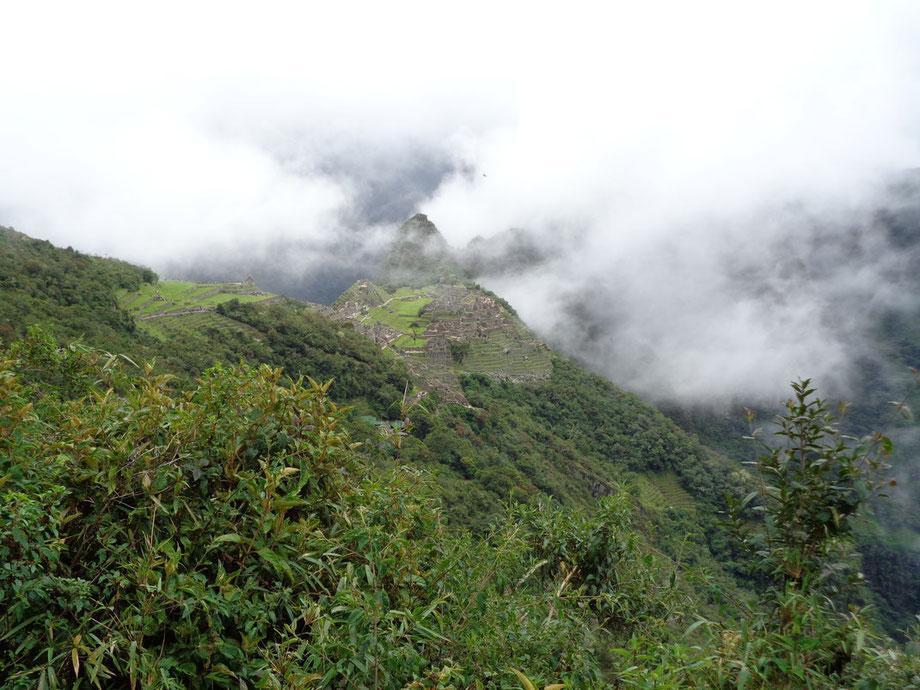 Das Ziel des 42 Kilometer langen Inka Trails: Machu Picchu