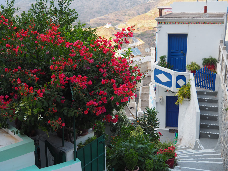 Farbenfrohe Stadt: Olympos auf Karpathos
