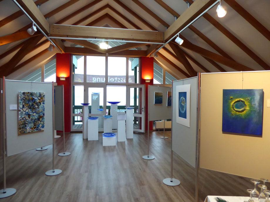 Ausstellung Licht - Farbe - Blau mit Florian Lechner in Gstadt am Chiemsee vom 31.08. - 02.09.2018