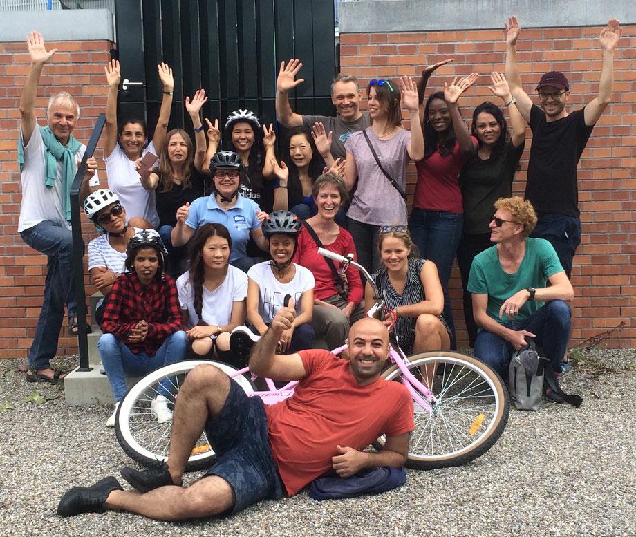 friends on bikes friendsonbikes Velofahrkurs für Flüchtlinge geflüchtete Menschen Solinetz