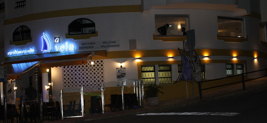Restaurant Immobilie A VELA,in Strandnähe von Carvoeiro,Lagoa,Algarve,Portugal