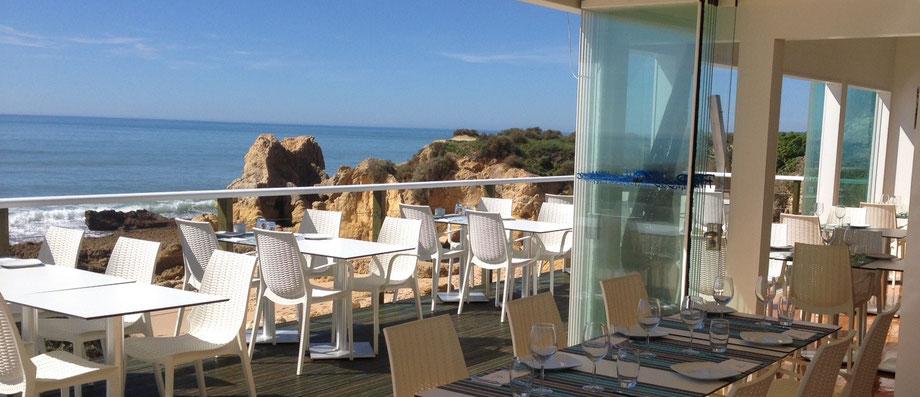 Restaurante Praia do Lourenço,Guia,Albufeira,Algarve,Portugal geeignet für Romantisch Essen sowie auch für Familien
