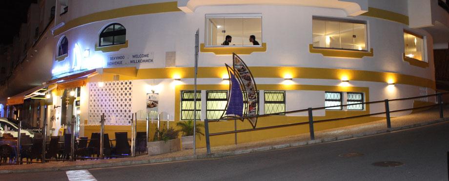 Immobilie Restaurant A VELA steht zum Verkauf,Carvoeiro,Lagoa,Algarve,Portugal
