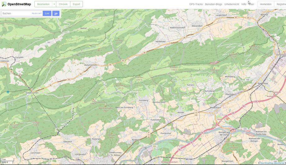 Wanderung  Naturpark Jura