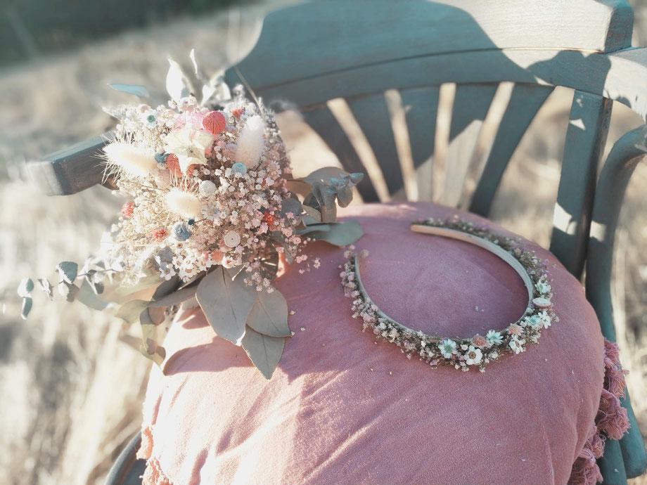 Haarkamm, Haarschmuck Blumen