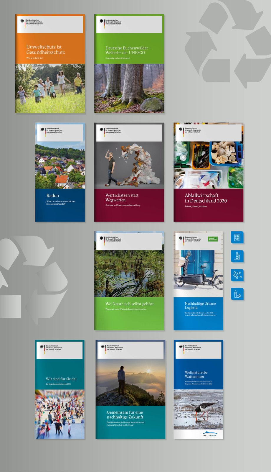 Publikation Broschürenreihen