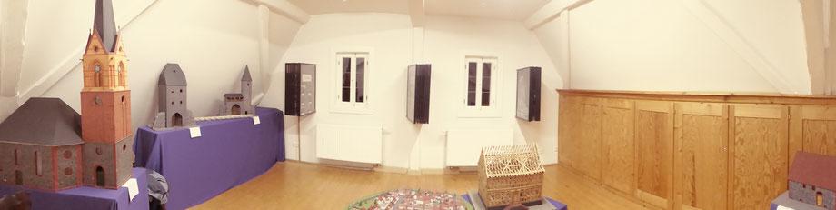 Ausstellungsraum nach Renovierung