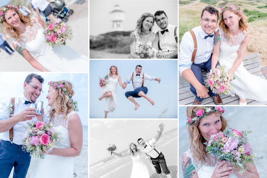 Hochzeitsfoto von Unna und Langeoog