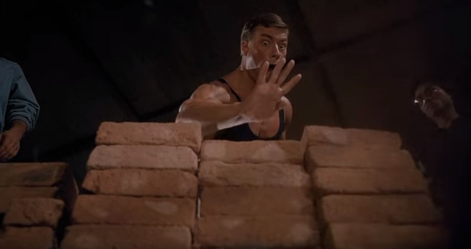 Dim Mak - Szene aus dem Film Bloodsport mit Jean Claude van Damme