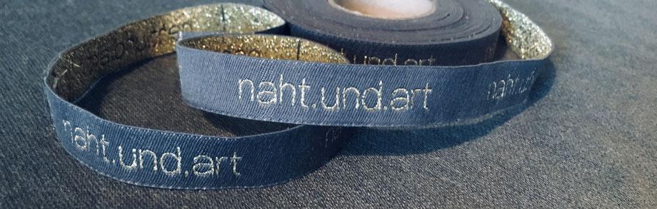 nahtundart label baumwolletikett