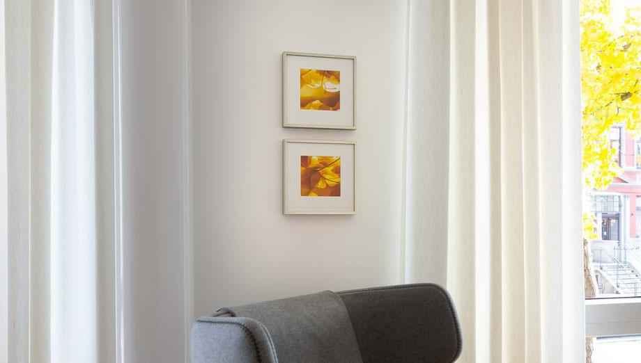 Ginkgo-Fotokunstserie von Andreas Caspari