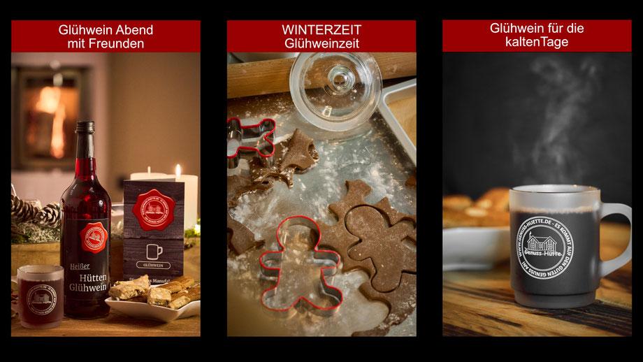"""Genuss Hütte Zimt Schnecke.  Gefüllt mit viel Liebe und lauter leckeren """"Genuss Hütten"""" Produkten."""