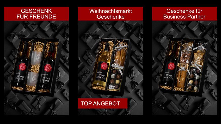 """Genuss Hütte Pralinen Lose.  Gefüllt mit viel Liebe und lauter leckeren """"Genuss Hütten"""" Produkten."""