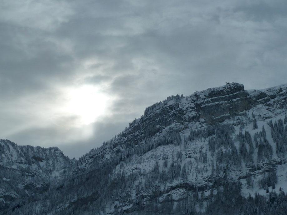 9.12.12 DS, DF, RF, MS, ST Brülisau (920m) - Kamor (ca.1700m)