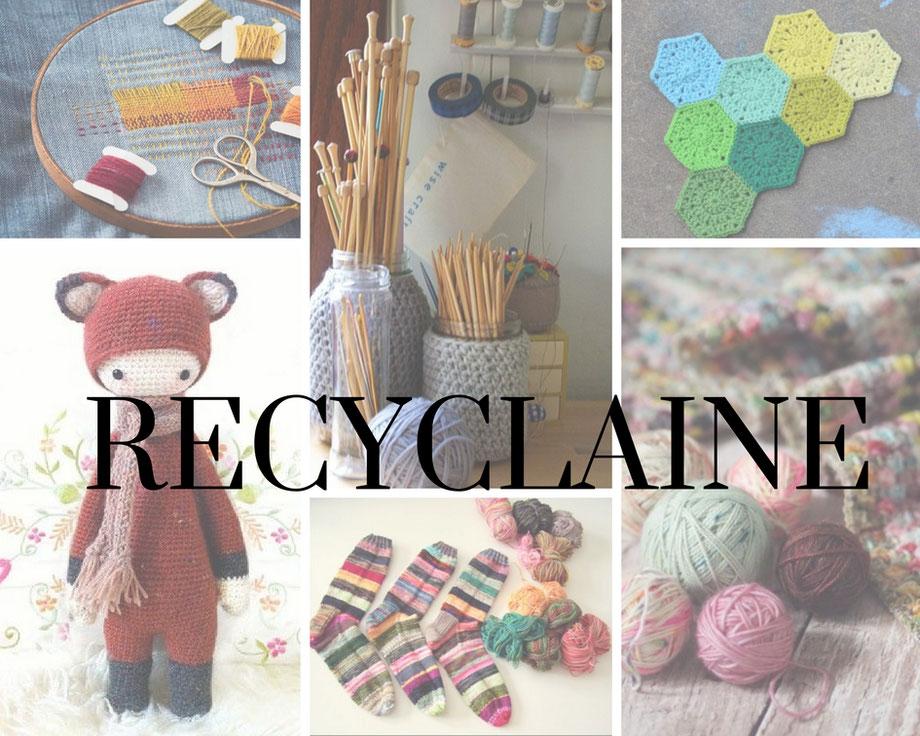 site professionnel styles divers Nouvelles Arrivées Recyclaine: utiliser vos restes de laines - L'Atelier Fibre ...