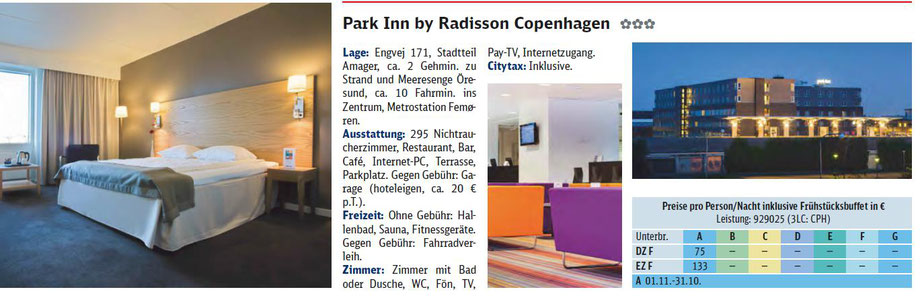 PARK INN BY RADISSON COPENHAGEN...