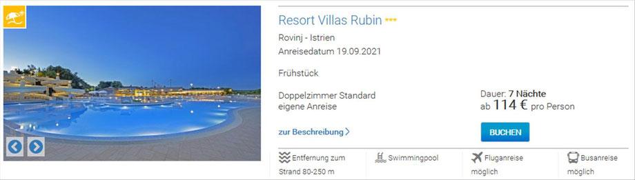Top - Ferienhäuser in Kroatien preiswert buchen...