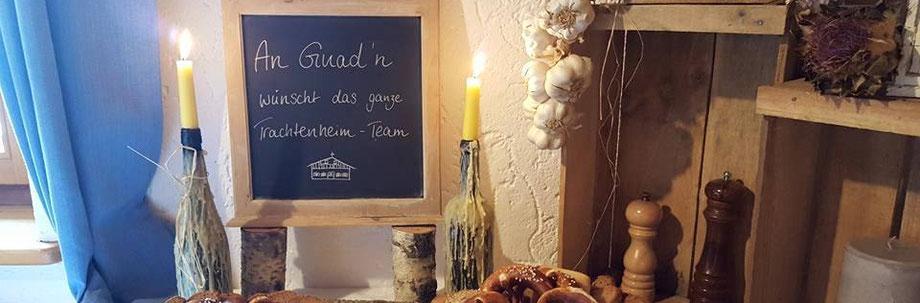 Kulinarisches im Trachtenheim Irschenberg - Heiraten im Landkreis Miesbach - Hochzeitslocation