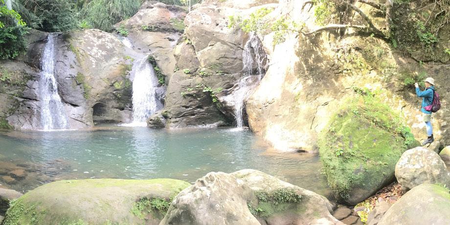 西表島・ガイドにおまかせツアー【滝巡り・ユツンの滝/ユツン支流の滝】