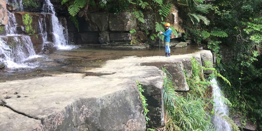 西表島・ガイドにおまかせツアー【滝巡り・ピナイサーラ/ゲータの滝+鍾乳洞(おまけ)】