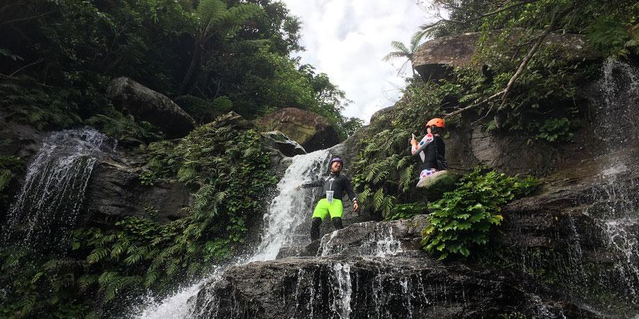 ゲータの滝/滝遊び