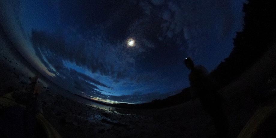 西表島・早朝カヌー/カヤックツアー/夜明け前