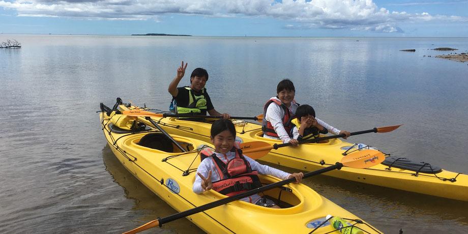 西表島・ガイドにおまかせツアー【マングローブカヌー&滝あそびforファミリー】