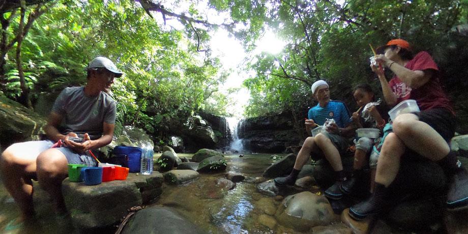 西表島/クーラの滝
