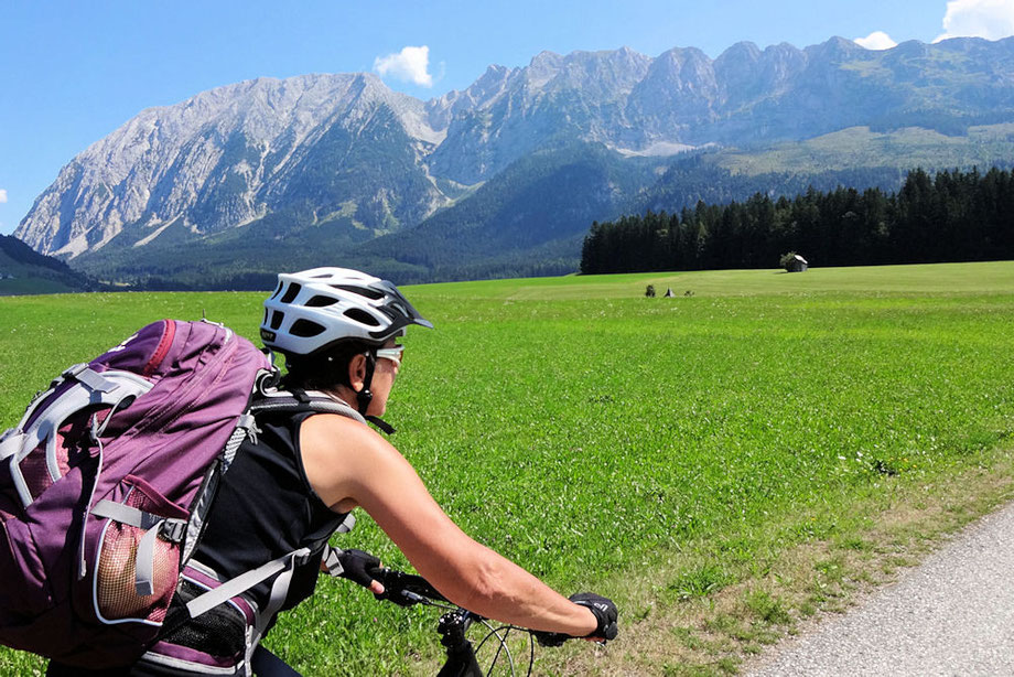 Biken um den Grimming