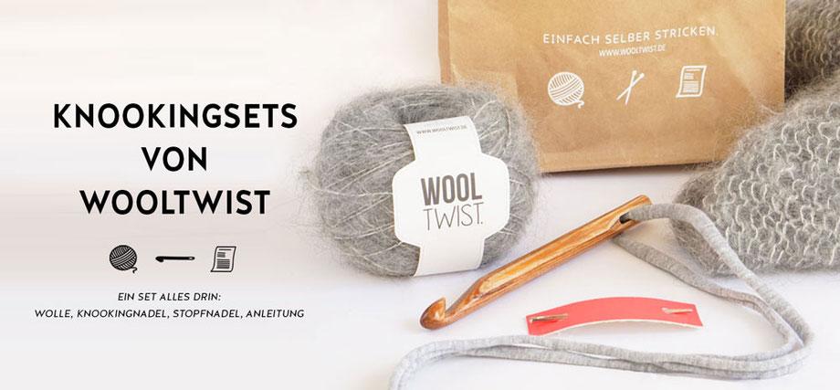 Knookingsets von Wooltwist - Knooking leicht gemacht!