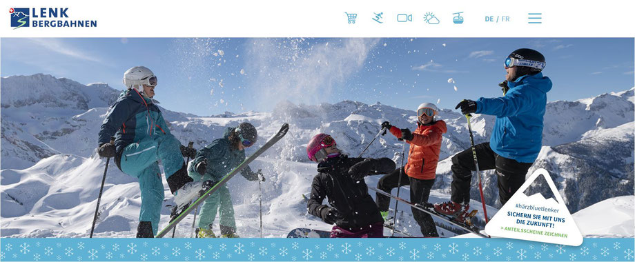 skifahren berner oberland lenk