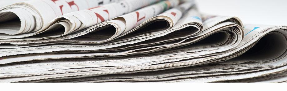 Medien, Zeitungen