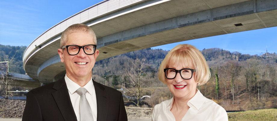 Thomas Kieliger und Alessandra Gregorini Brücke Üetlibergtunnel