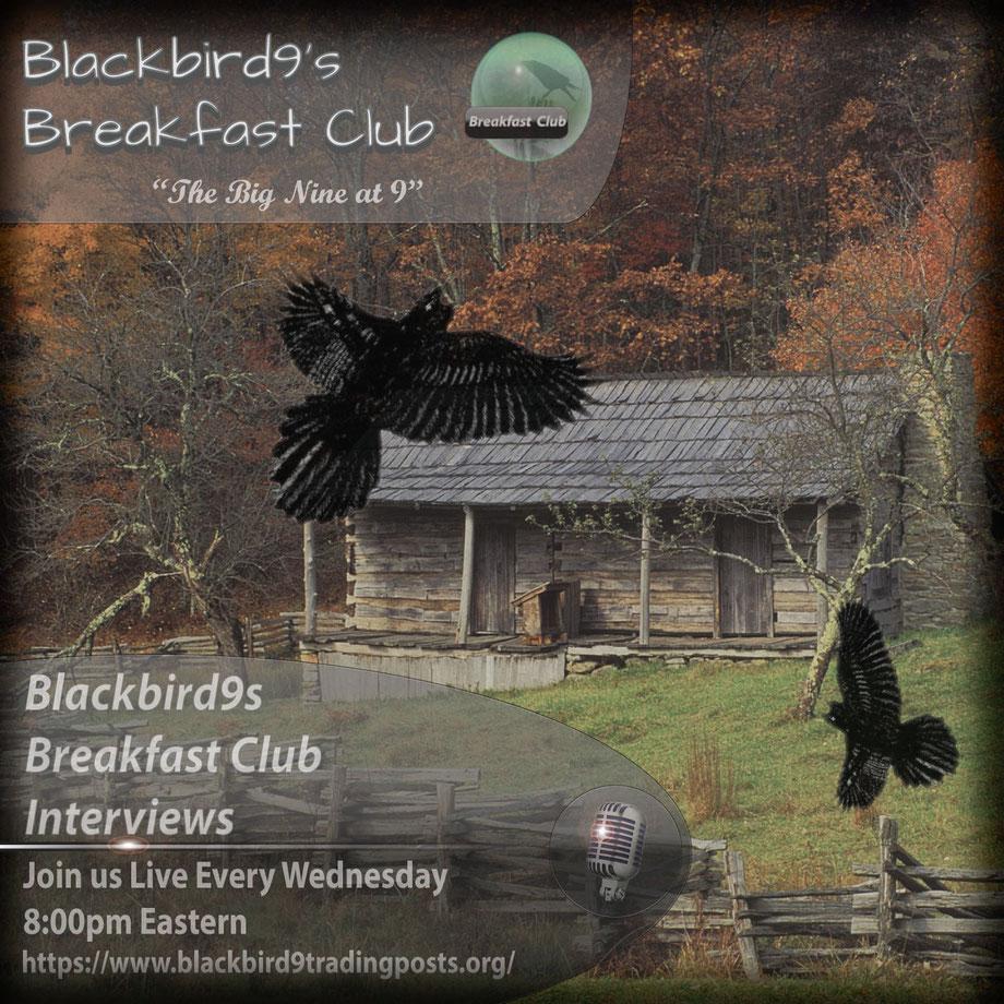Blackbird9s Breakfast Club - Big Nine at 9 - Podcast Lounge Interviews