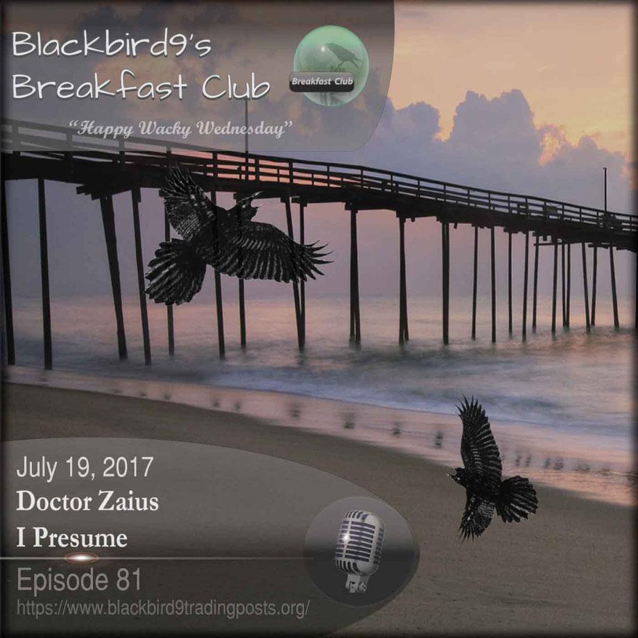 Doctor Zaius I Presume  Blackbird9