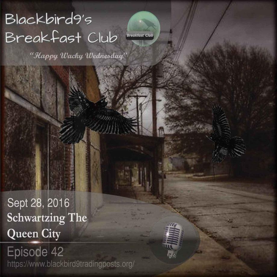 Schwartzing The Queen City - Blackbird9