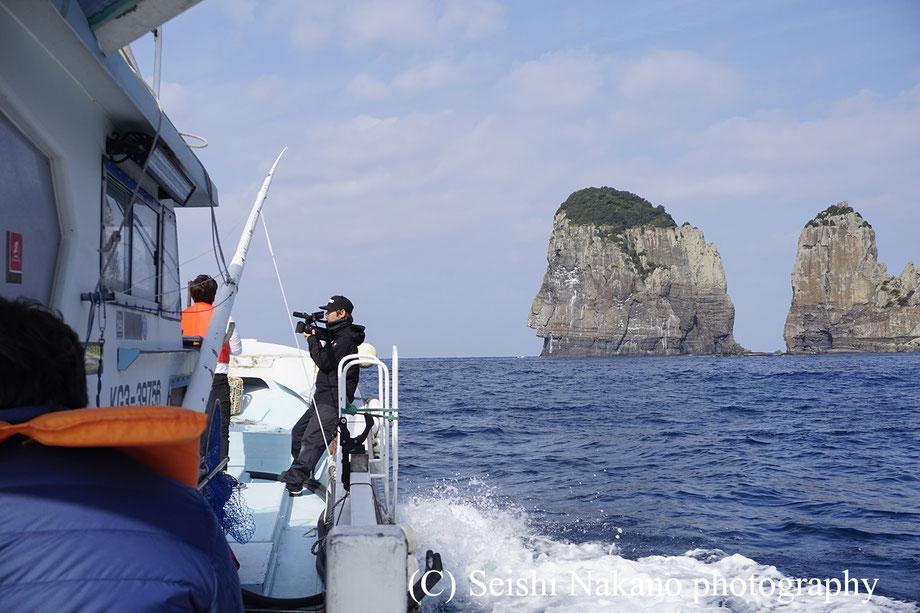 沸騰ワード10 甑島ロケとナポレオン岩