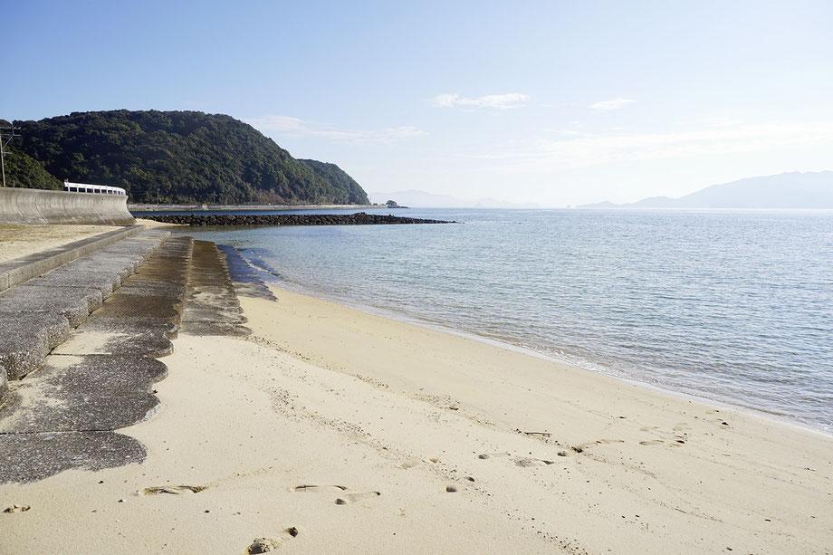 立海水浴場風景
