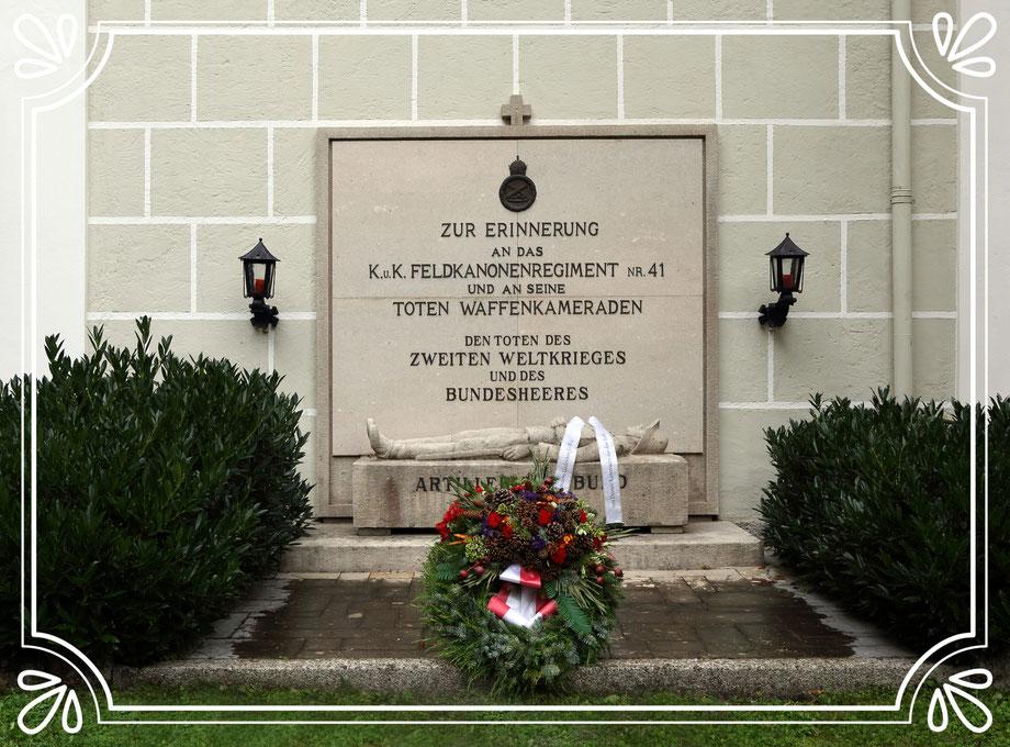 Das Ehrenmal des Artilleristenbundes Salzburg