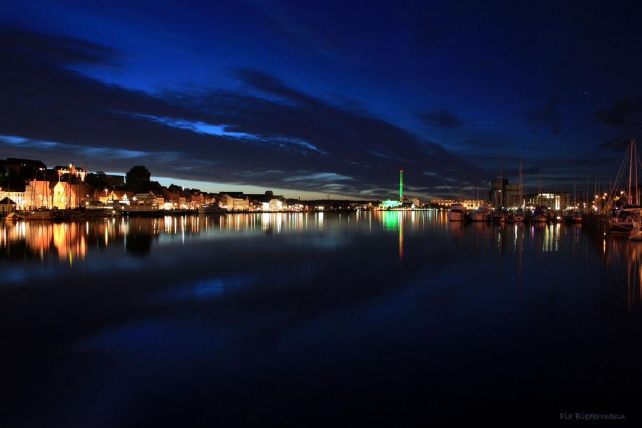 An der Hafenspitze Flensburg