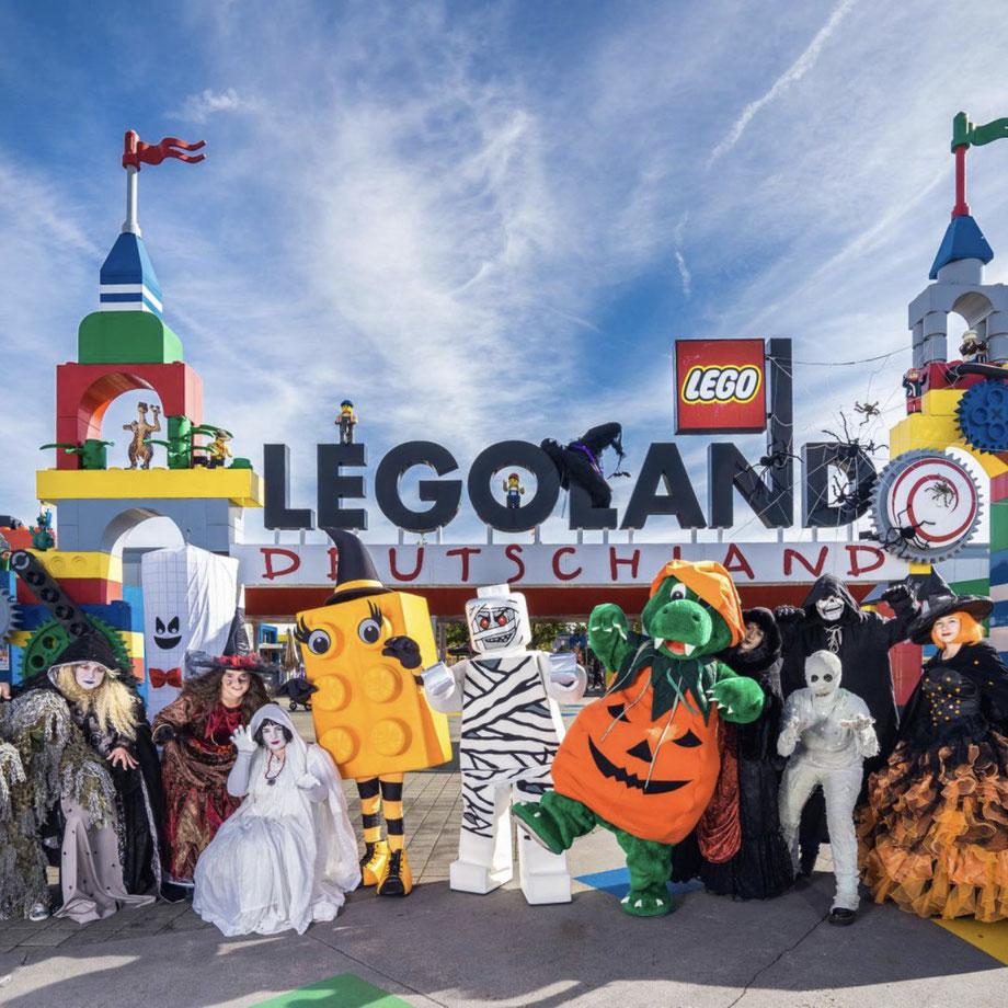Halloween Saison 2020 im LEGOLAND Deutschland Resort
