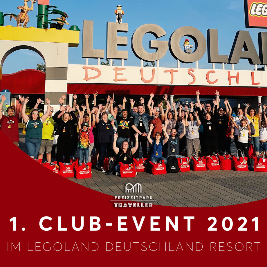 Freizeitpark Traveller Club Event im LEGOLAND - Erlebnisbericht