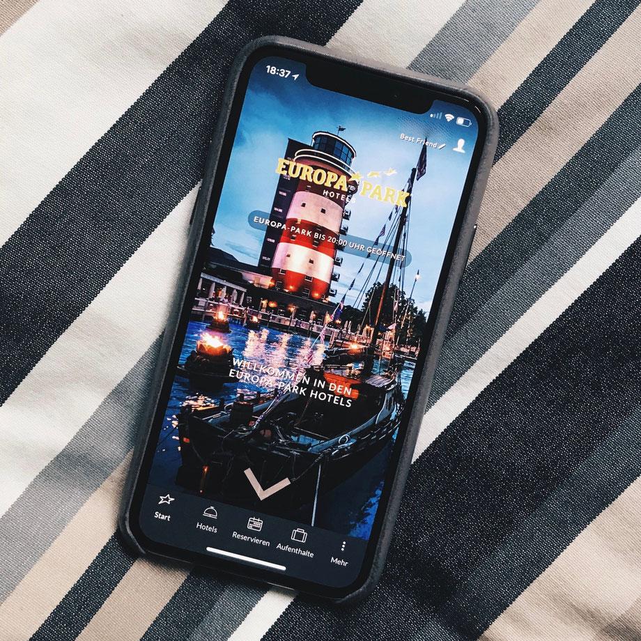 Europa-Park Hotels App