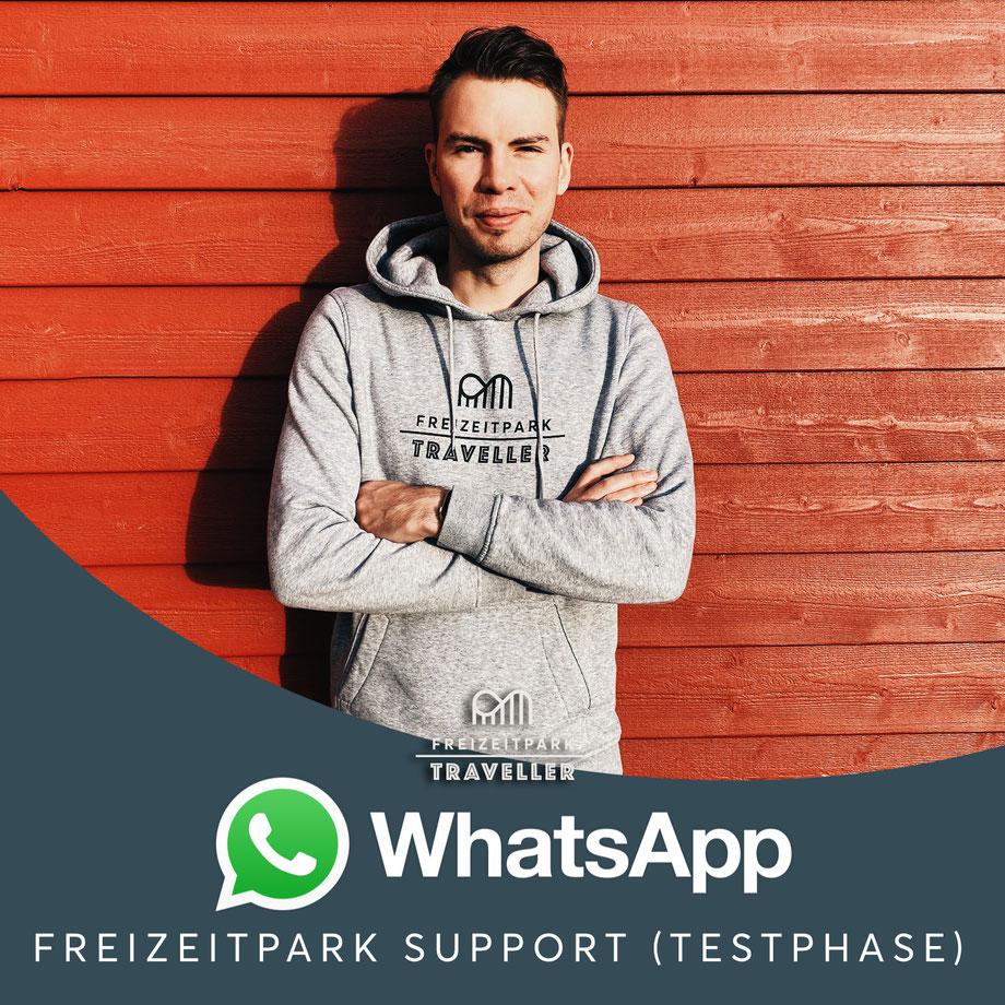 Freizeitpark Traveller x WhatsApp