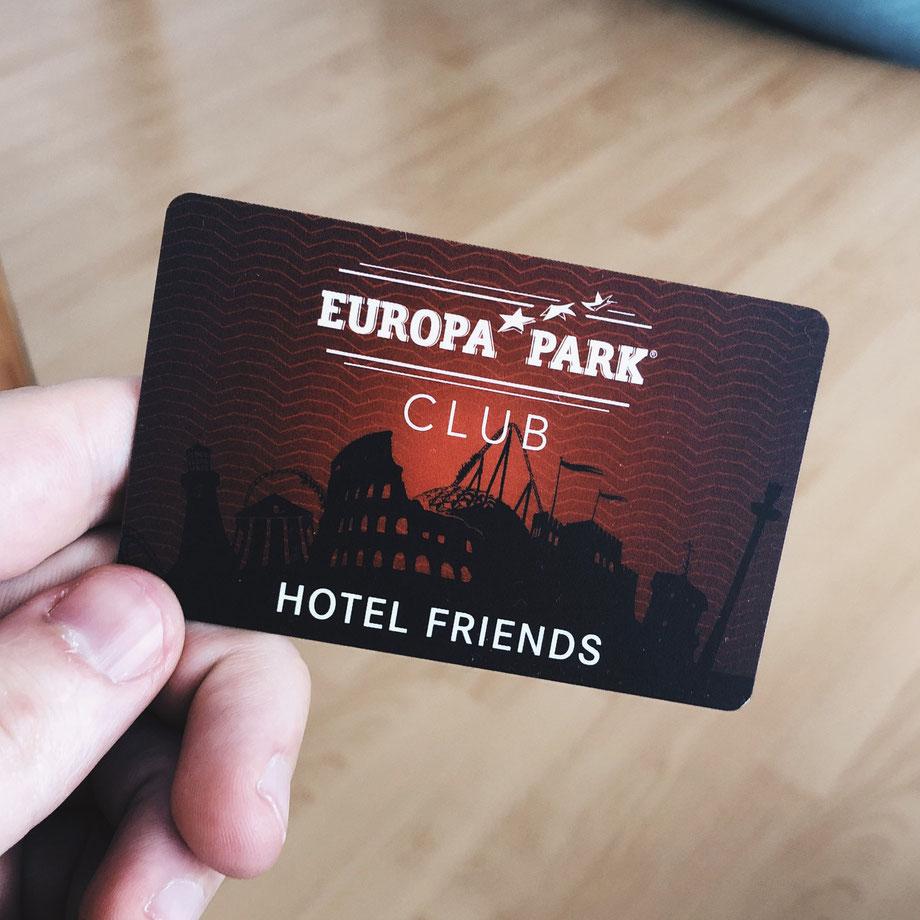 Europa-Park Hotel Friends Programm