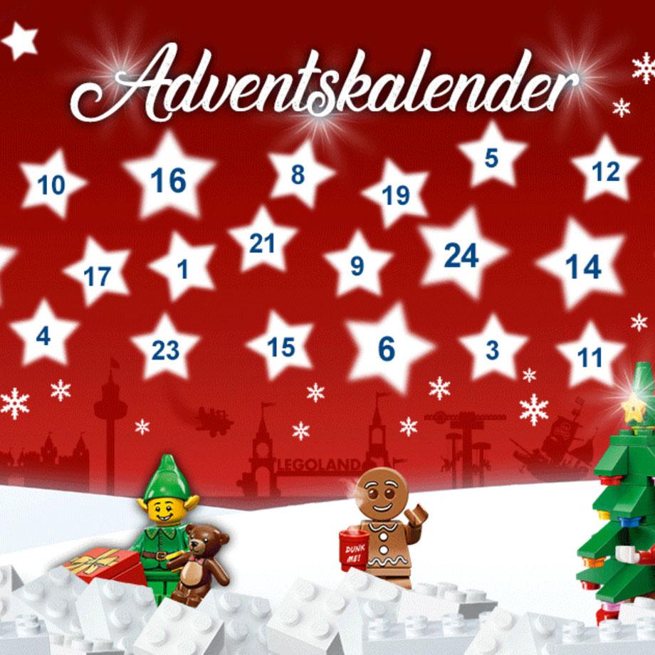 Freizeitpark Adventskalender 2020 / Bild Quelle: LEGOLAND Deutschland