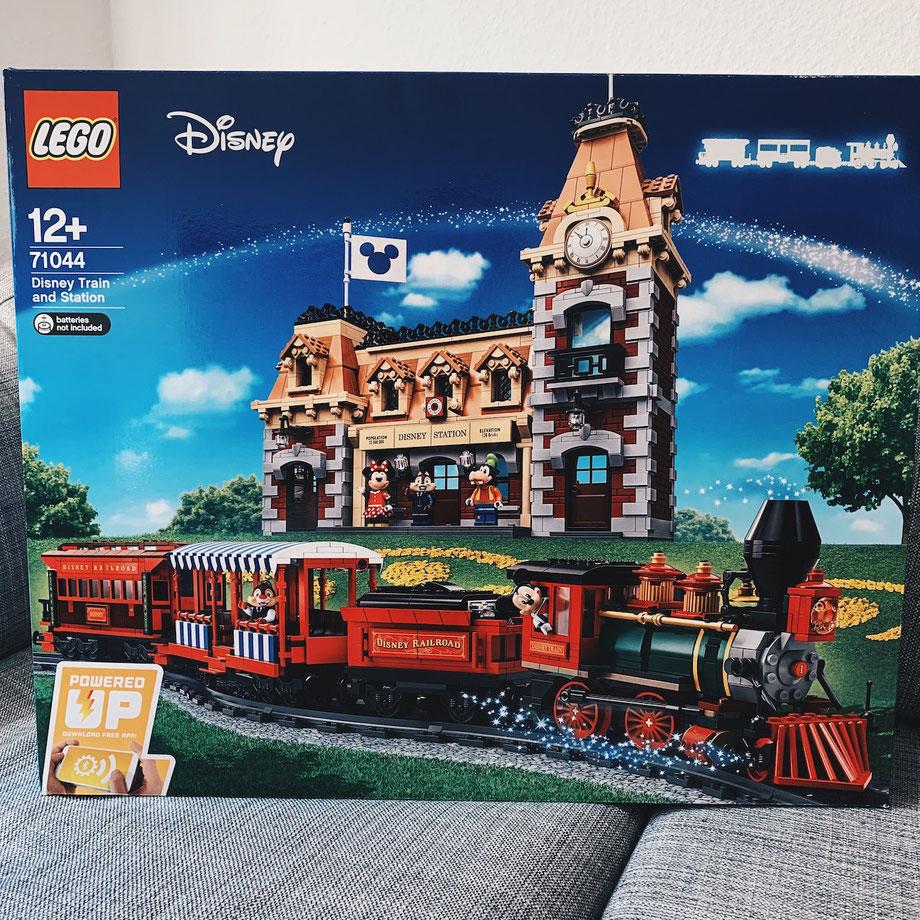 LEGO Disney Zug mit Bahnhof