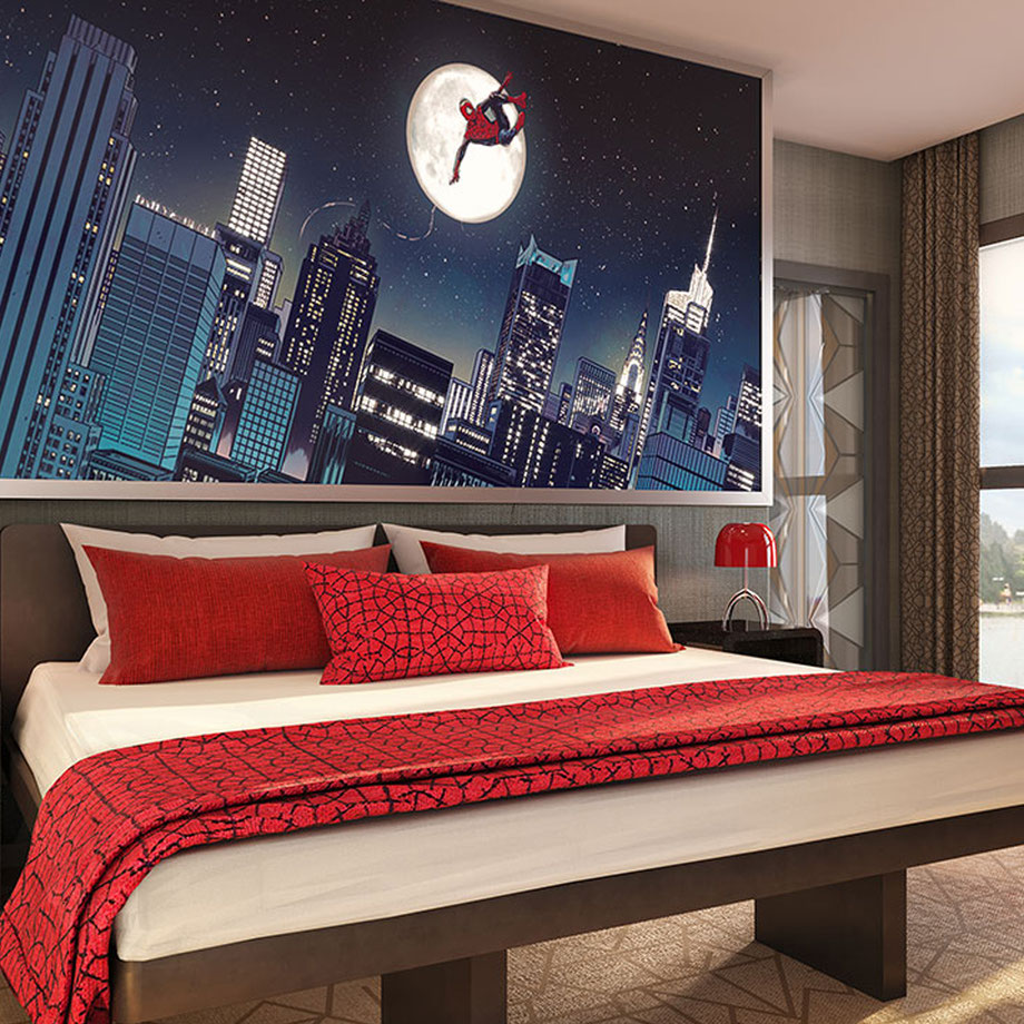 Disneys Hotel New York - The Art of Marvel: ein exklusives Marvel-Angebot für die ersten Buchungen