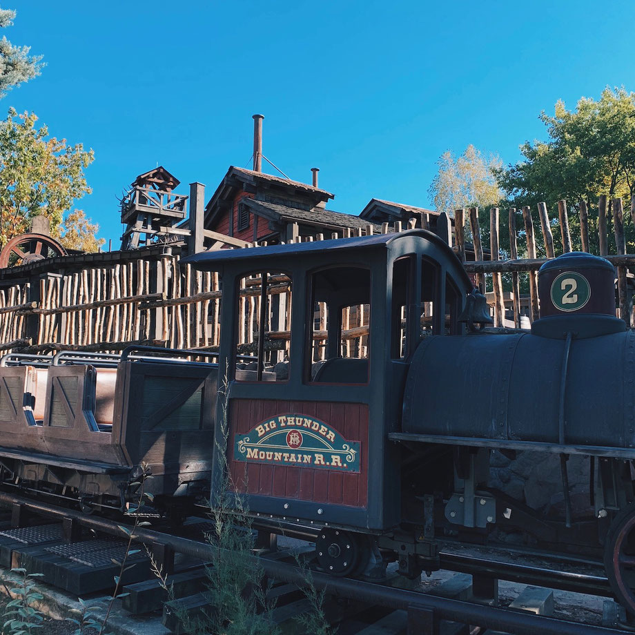 Big Thunder Mountain Disneyland Paris