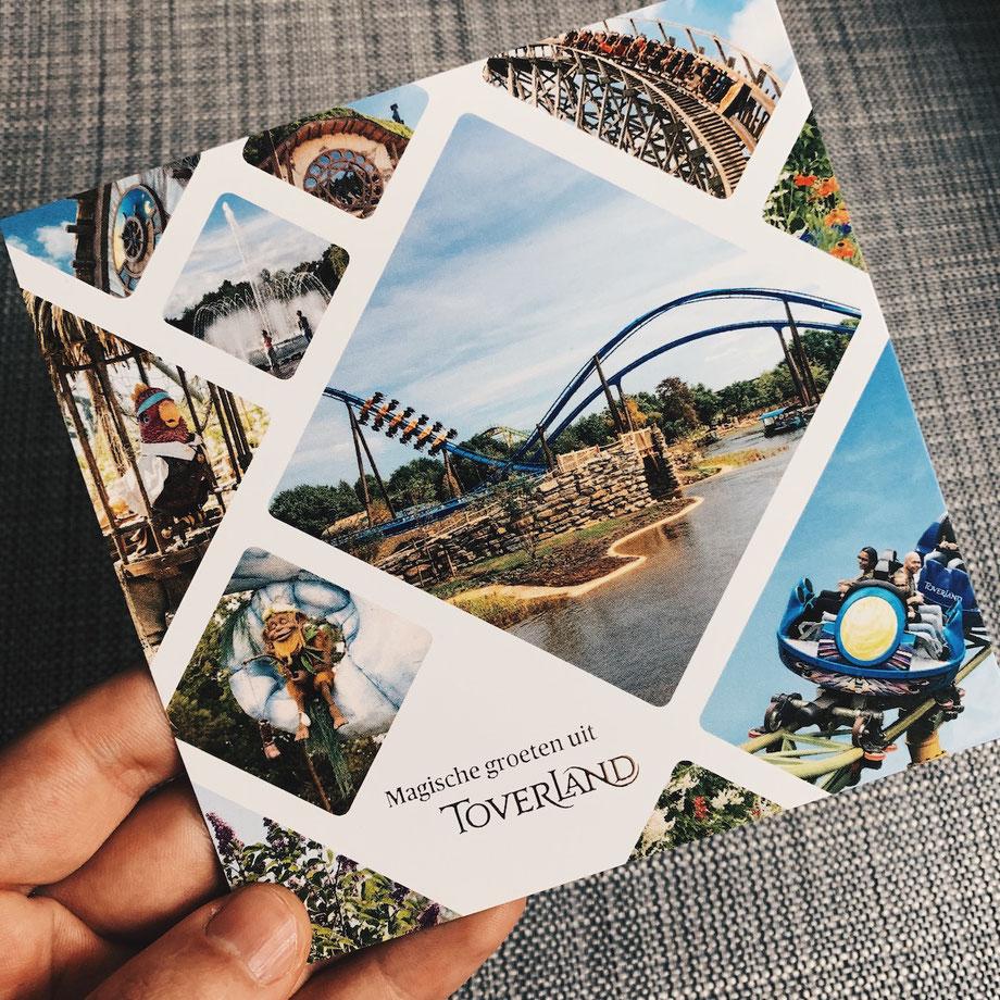 Freizeitpark Postkarte